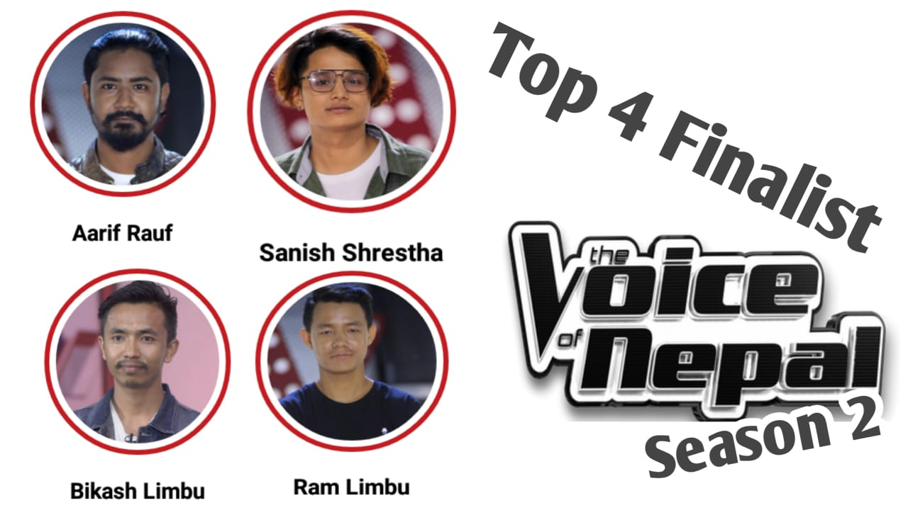 Top 4 Finalist of The Voice of Nepal Season 2