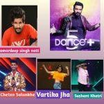 Pervious season artist come dance plus 5