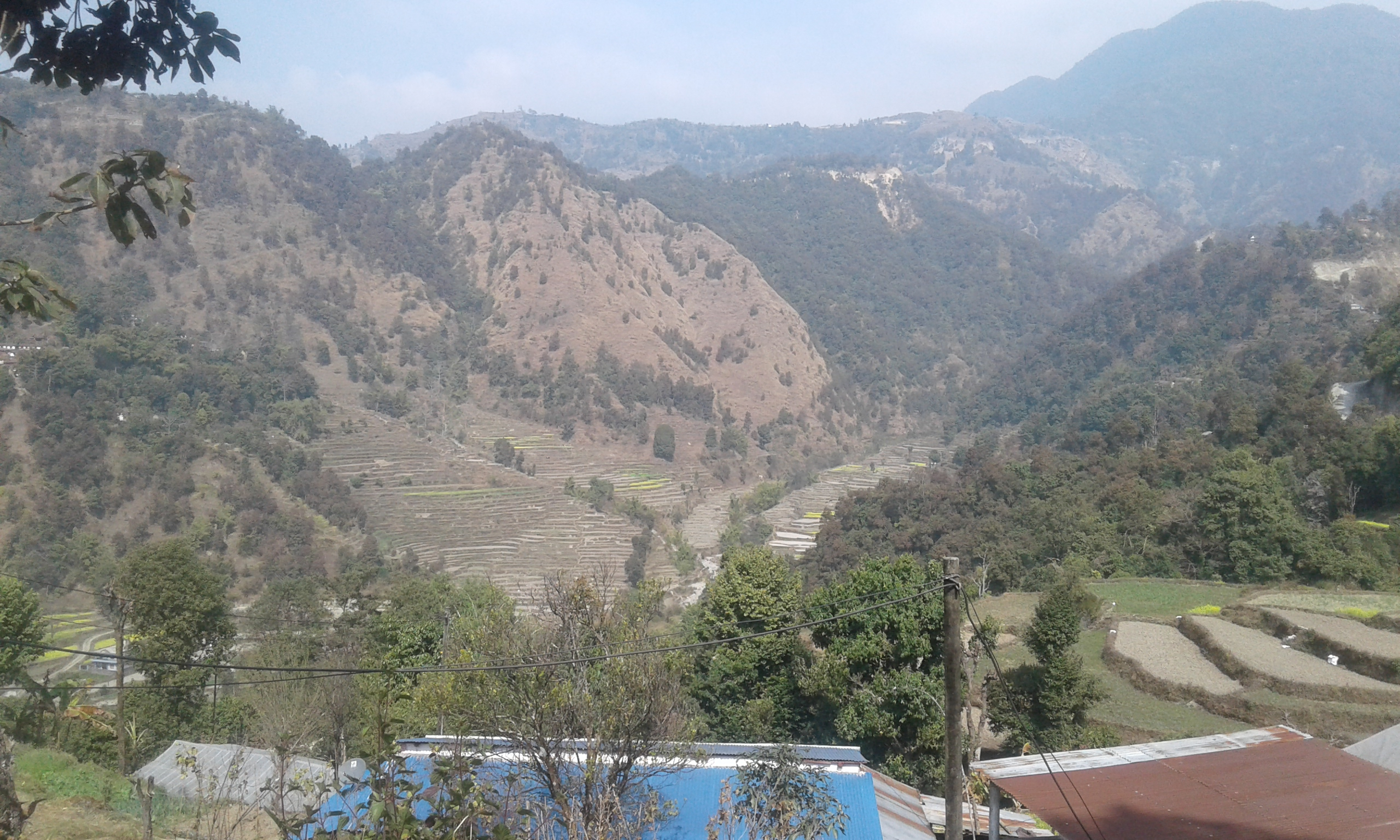 Beautiful place of landscape in Nepal