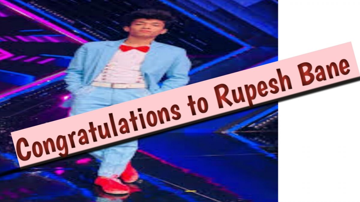 Congratulations Rupesh Bane For Dance Plus 5 Tittle Winner of 2020