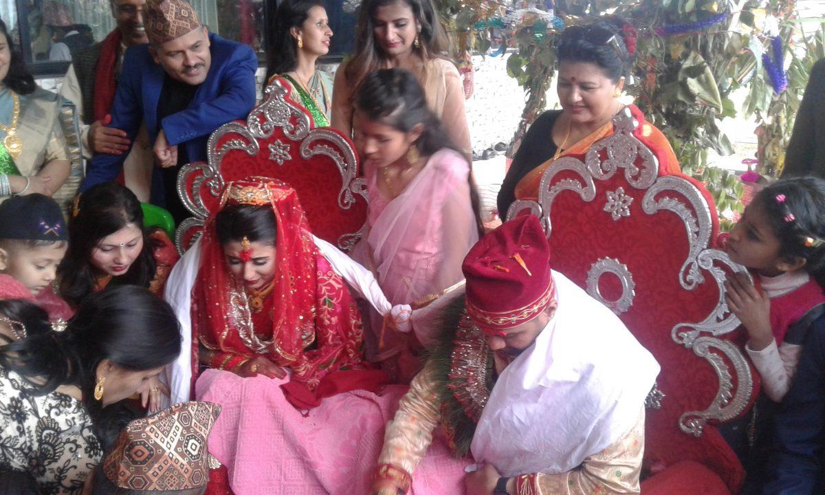 Congratulations Nishan and Yunika Happy Married Life