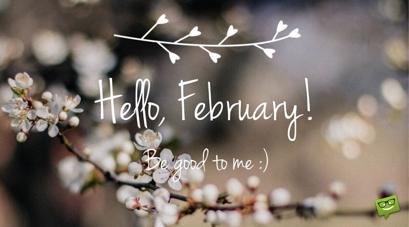 Welcome to February month
