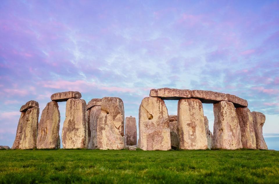 Beautiful place of Stonehenge England