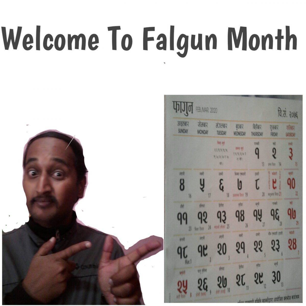 Welcome To Falgun Month
