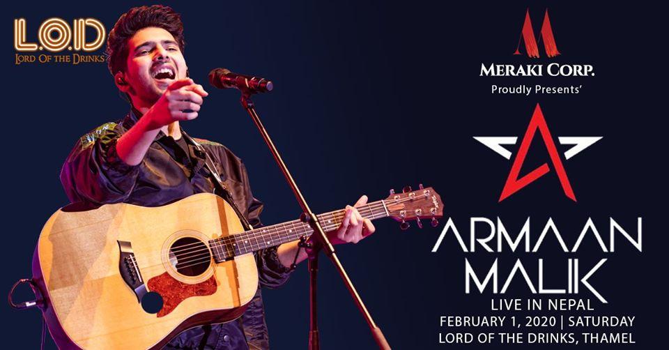 Armaan Malik come in Nepal