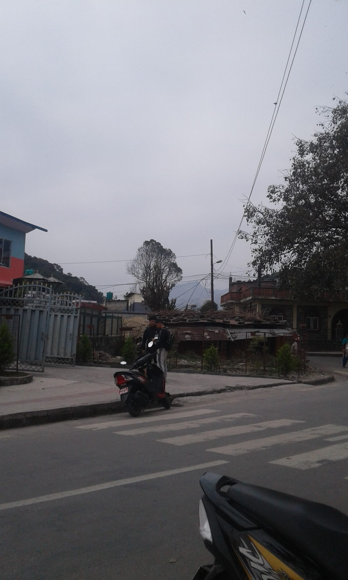 Bad weather Today in Pokhara