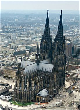 Cologne Cathedral place to visit in Germany