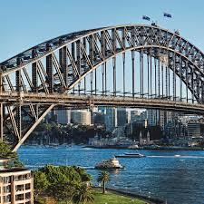 Sydney Harbour Bridge of Australia to visit