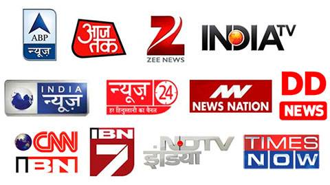 Top 5 news channel in India