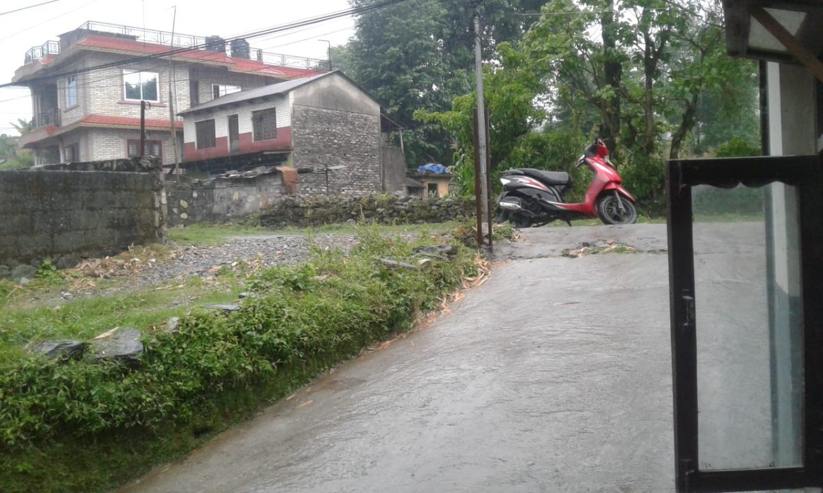 Rainfall in Batulechaur Pokhara Today
