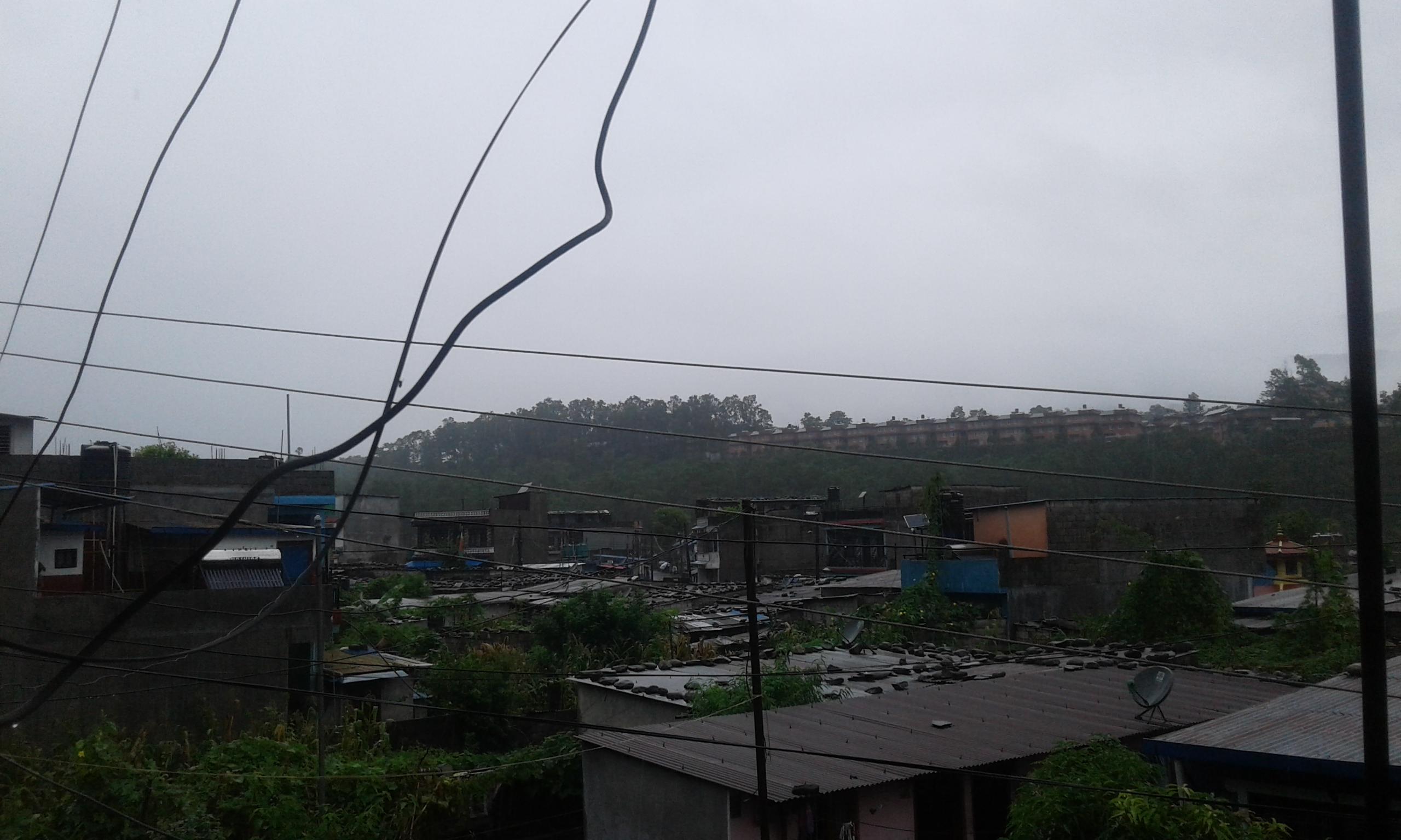 Monday Rainfall Update News of Pokhara