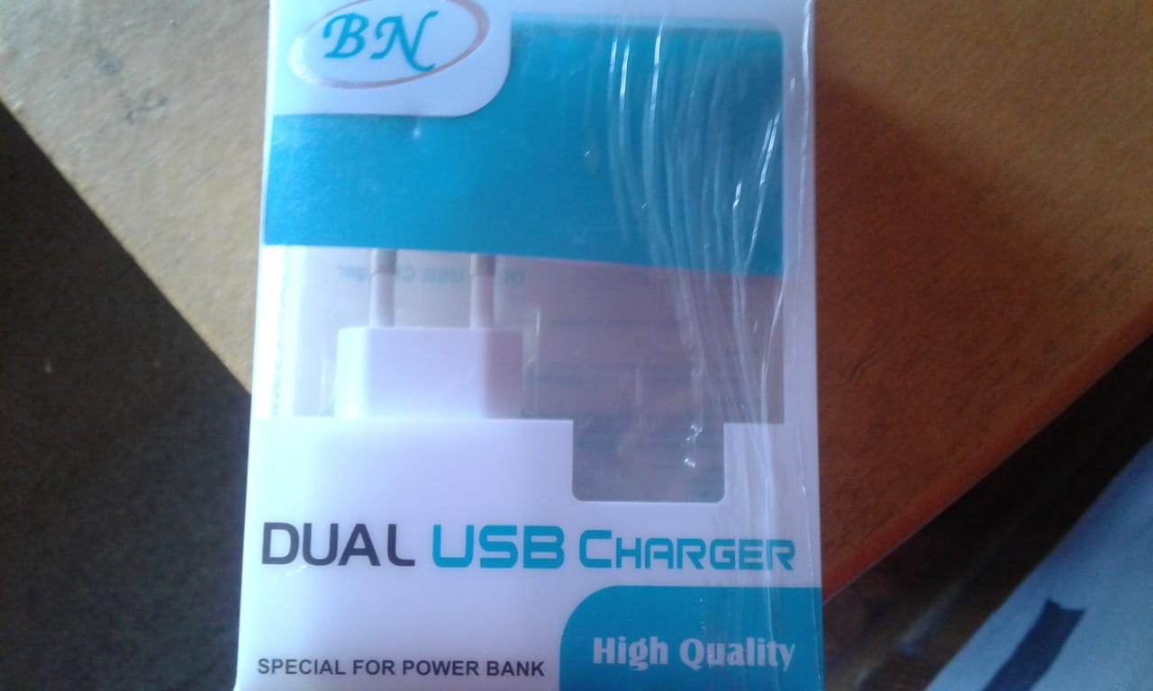 Today I Buy a Dual USB Charger of Samsung