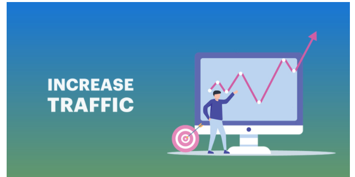 how can we increase traffic on the website