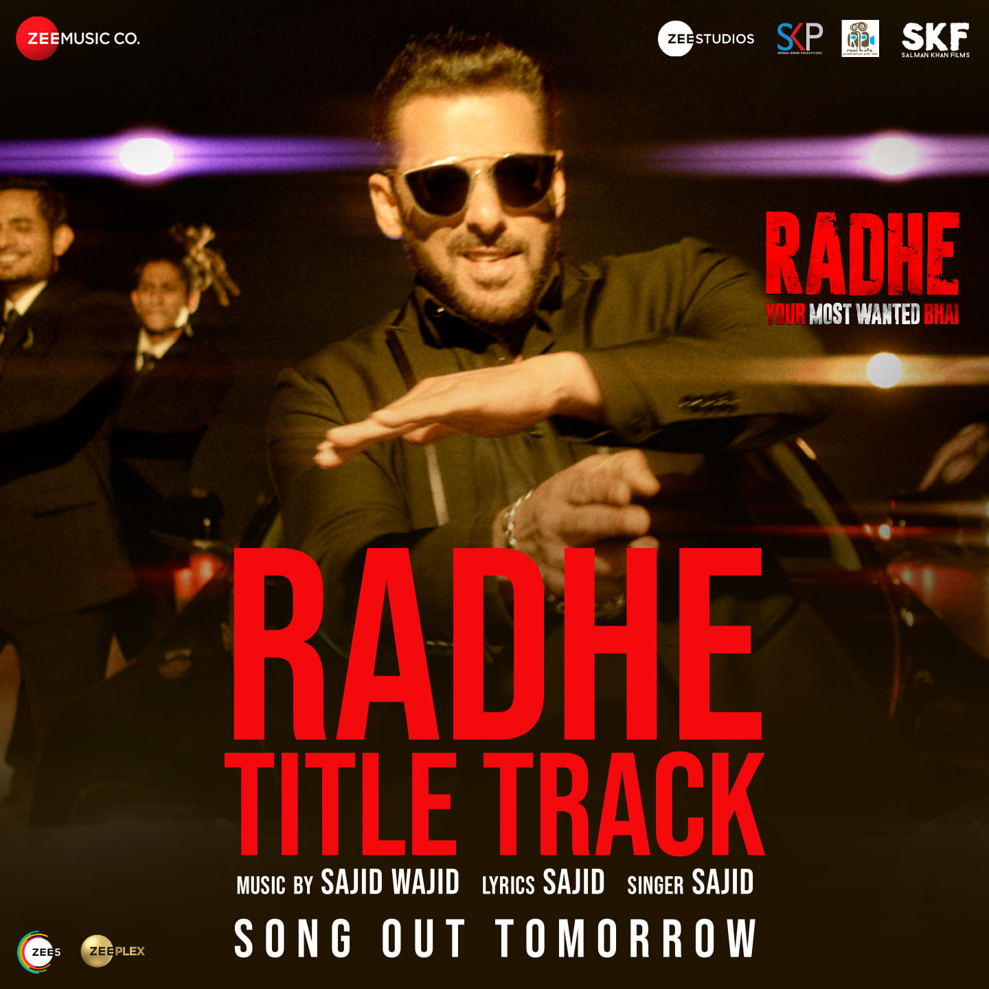Radhe Title Track songs will be released Tomorrow