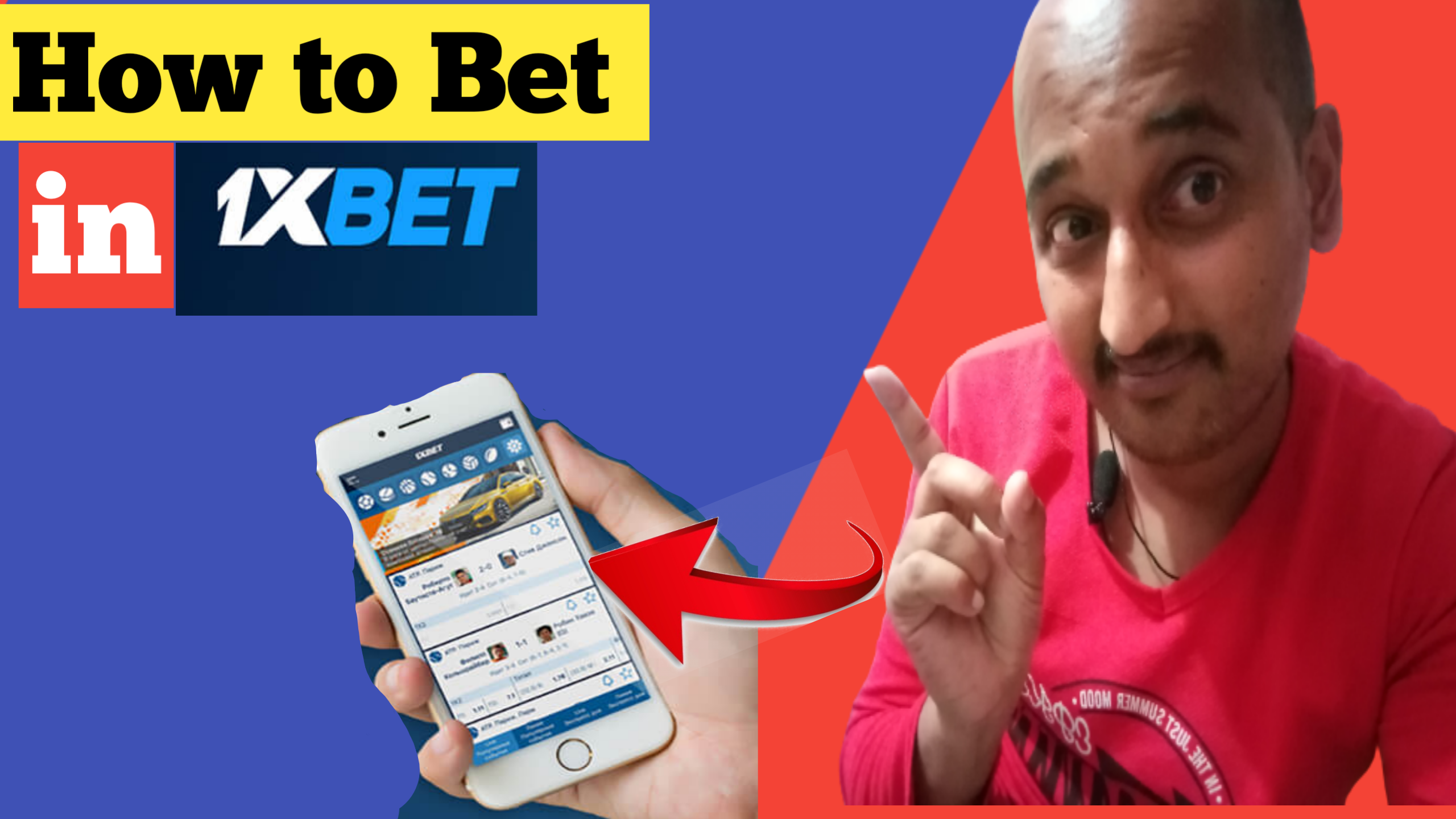 How to Bet in 1xbet in Nepal 2021 on Mobile Apps