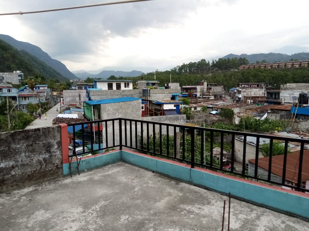 Evening time from Pokhara in my Home