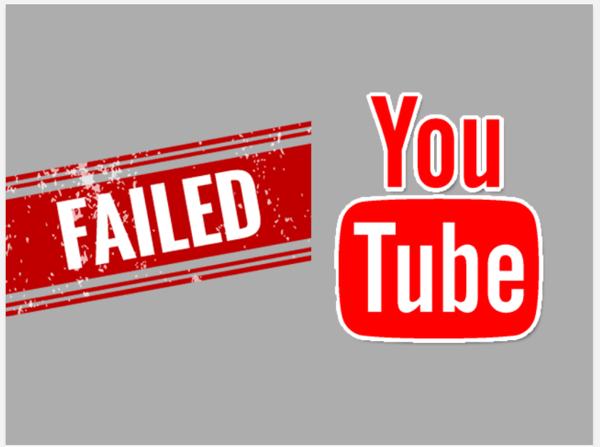 Why you Become Fail in Youtube in 2021