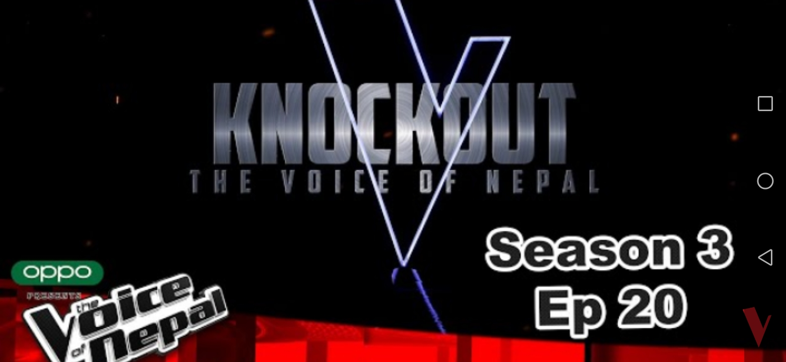 KnockOut of The Voice of Nepal Season 3 of Episode 20