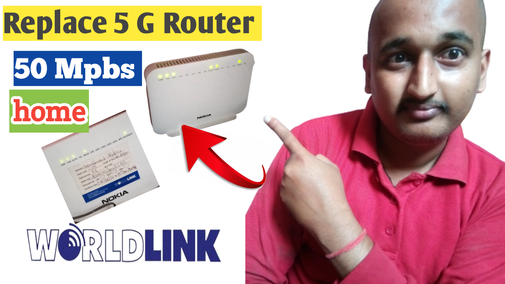Changing 5G Router Dual Band from WorldLink