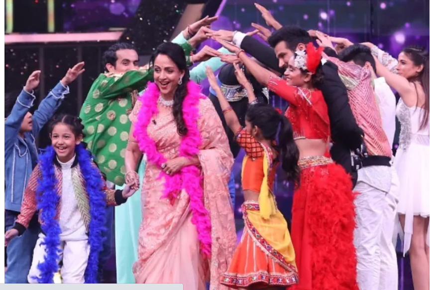 Padmini and Poonam Special in Super Dancer Chapter 4