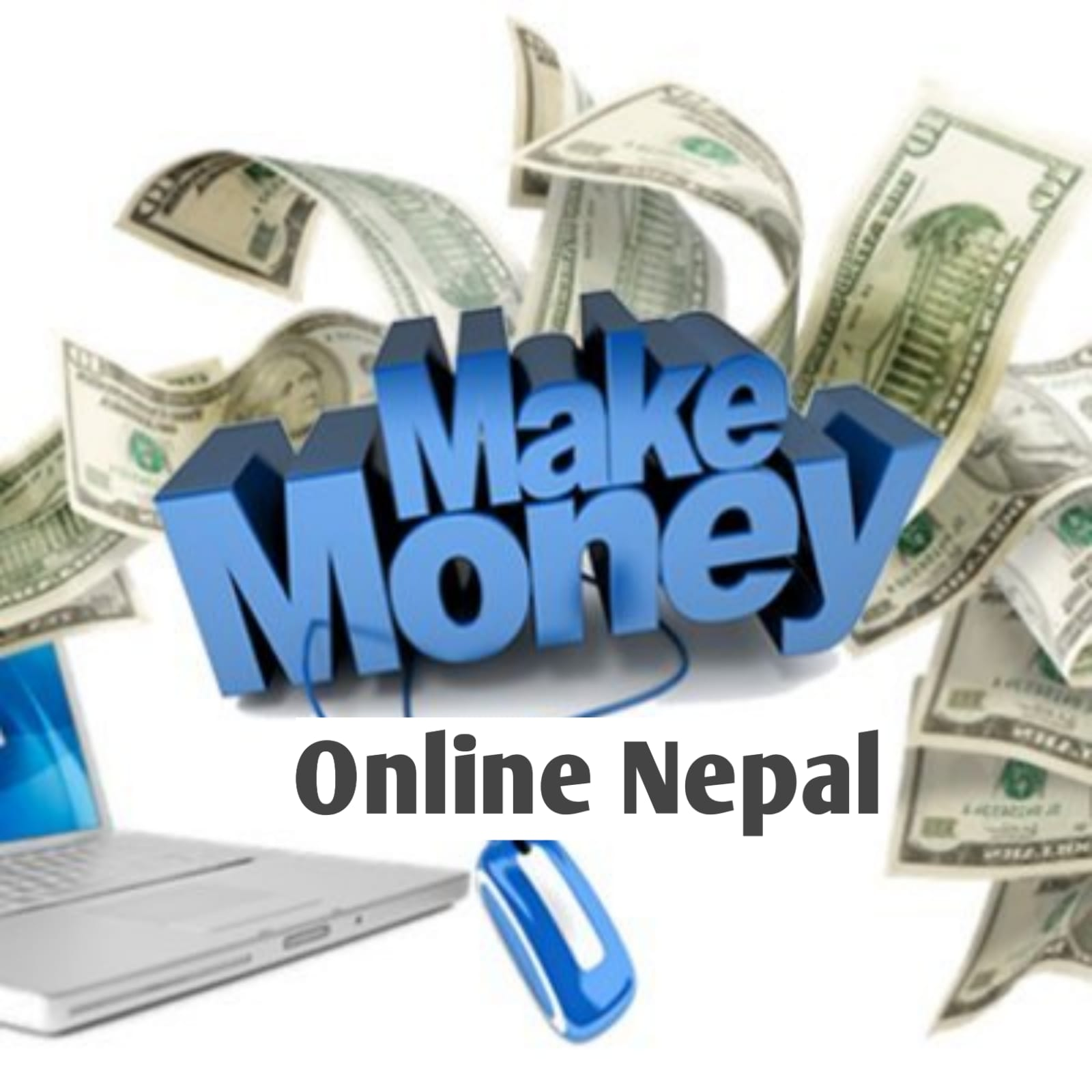 How to make money online in Nepal
